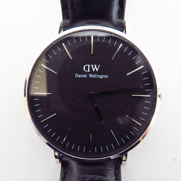 実際に弊社で買取させて頂いたDaniel Wellington/ダニエルウェリントン Classic Sheffield クォーツ腕時計 DW00100133