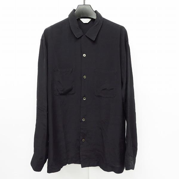 実際に弊社で買取させて頂いたUNUSED/アンユーズド 17SS open collar shirt/レーヨンシルクオープンカラーシャツ US1235/1