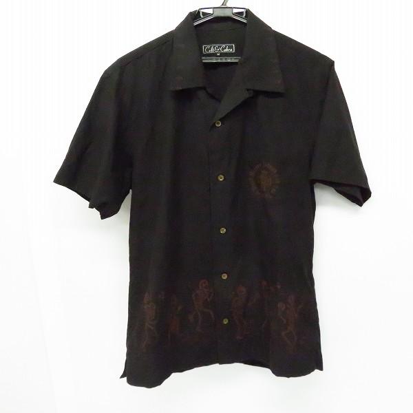 実際に弊社で買取させて頂いたlt&Cobra/ケルト&コブラ スカル オープンカラーシャツ 半袖シャツ/M